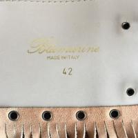 Blumarine Fringe belt