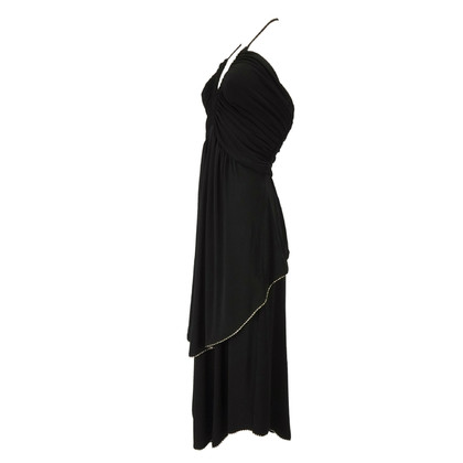 Marc by Marc Jacobs Black dress with Gold piping
