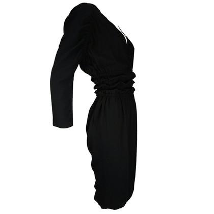 Just Cavalli Black dress with wrinkled waist