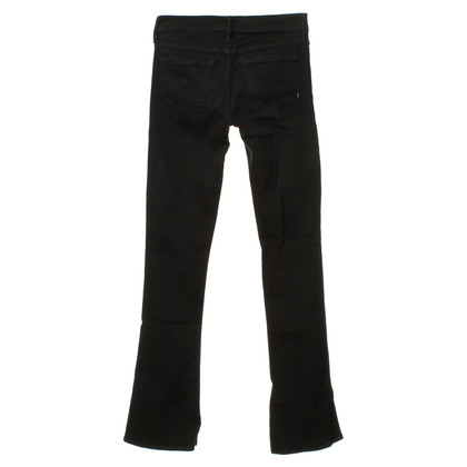Mother Schwarze Jeans