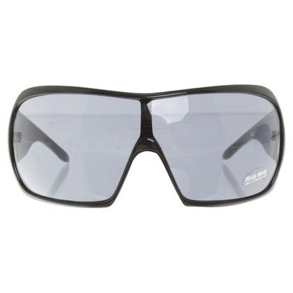 Miu Miu Occhiali da sole in nero