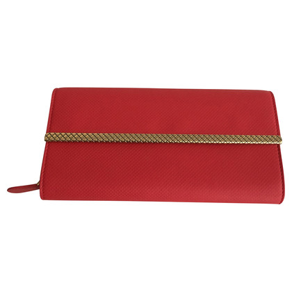 Bottega Veneta Red wallet
