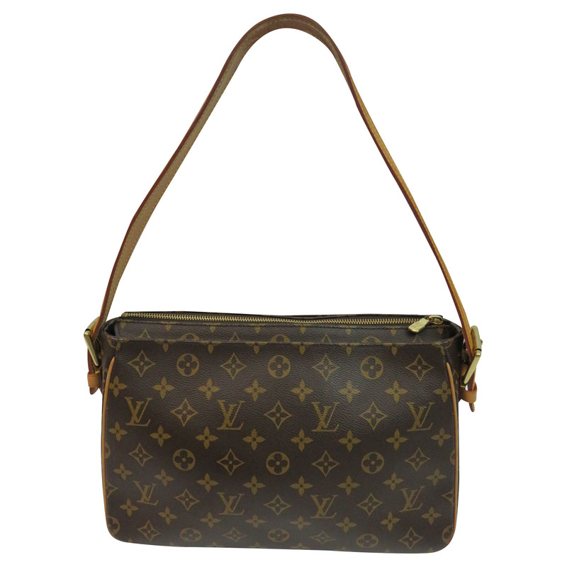 louis vuitton tasche viva cite gm in monogram canvas second hand louis vuitton tasche viva. Black Bedroom Furniture Sets. Home Design Ideas