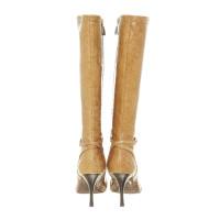 Escada Boots in reptiles