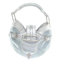 Jimmy Choo Handbag in blue / silver