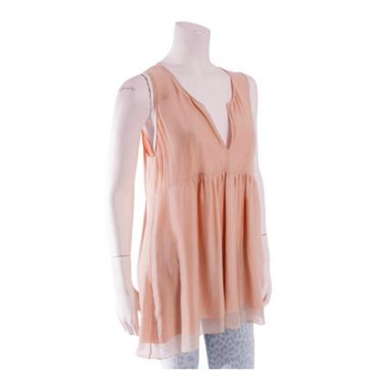 Stella McCartney Silk nude shirt
