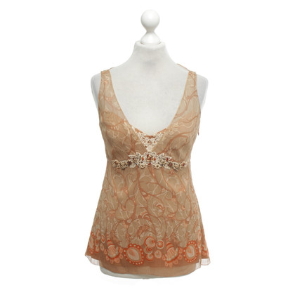 Elie Tahari top with pattern