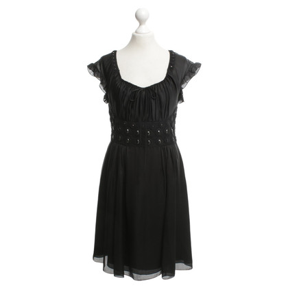 Temperley London Abendkleid in Schwarz