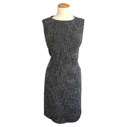 Max Mara Wollen jurk met Seidenantel