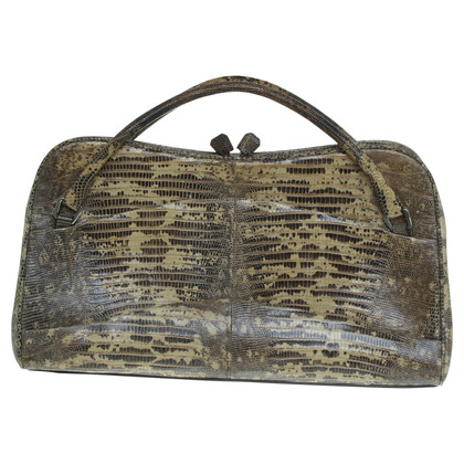 Prada Reptile leather handbag