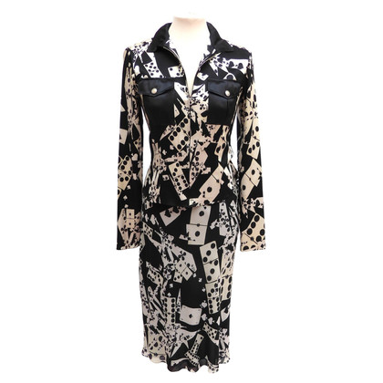 Christian Dior abito di seta 2 parte