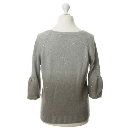 Brunello Cucinelli Sweater with gradient and sequins