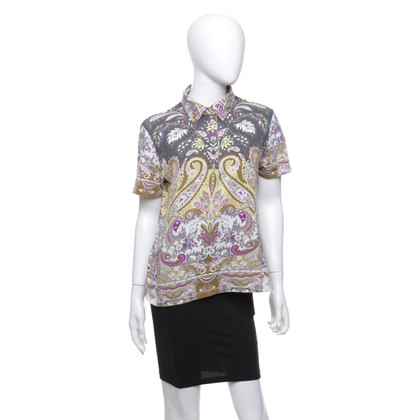 Etro Poloshirt in Multicolor