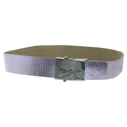 "Roberto Cavalli Metallic belt ""Angel"""