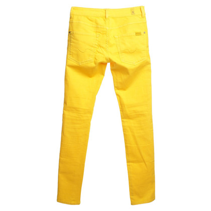 7 For All Mankind Jeans en jaune