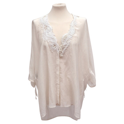 Etro Long blouse with embroidery