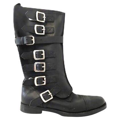 Dolce & Gabbana Stiefel mit Riemen