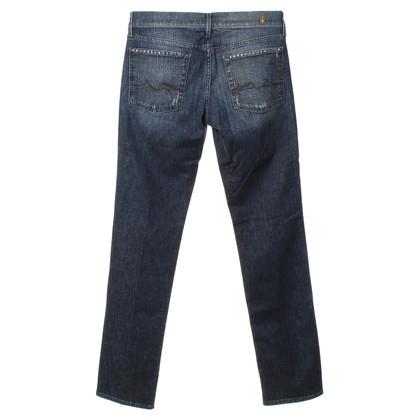7 For All Mankind Jeans bleu foncé