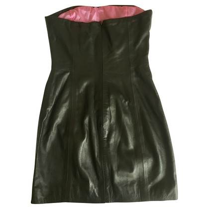 Dsquared2 Leather shift dress