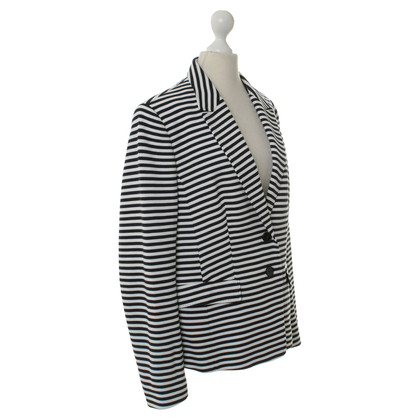 Hugo Boss Navy white striped Blazer
