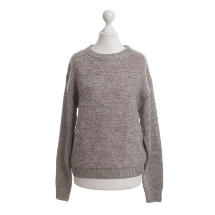 By Malene Birger Sweater with gold accents