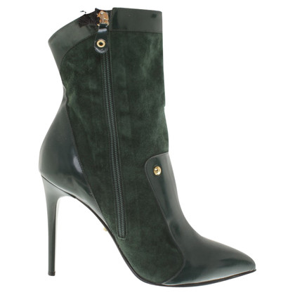 Just Cavalli Ankle boots in green