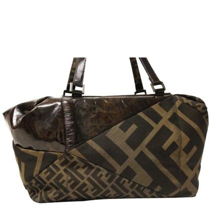 Fendi Handtasche im Patchwork-Stil