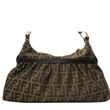 Fendi Handbag with Zucca pattern