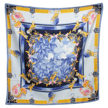 Cartier Silk scarf with pattern