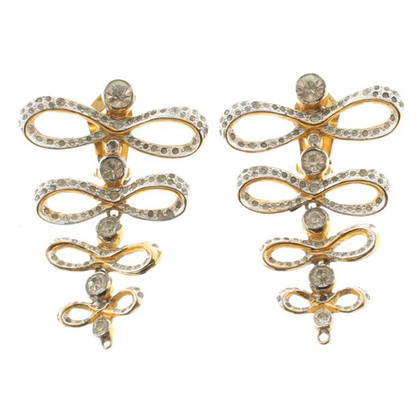 Valentino Ear clips with rhinestone