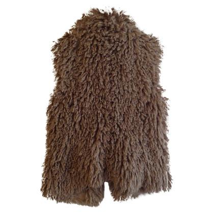 Marc Cain Faux fur vest