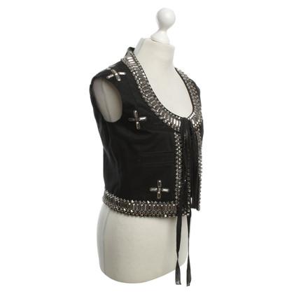 Givenchy Vest met sieraden stenen