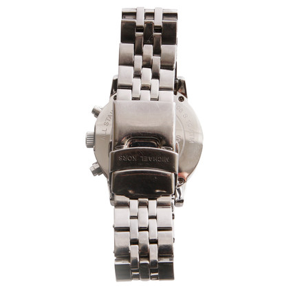 Michael Kors Silberfarbene Armbanduhr