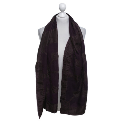 Antik Batik Scarf in Bordeaux