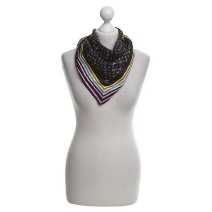 Louis Vuitton Silk scarf with Monogram Multicolore