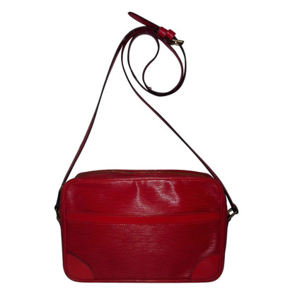 "Louis Vuitton ""Trocadéro EPI leather"" in red"