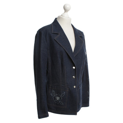 Escada Jeans blazer with jewelery