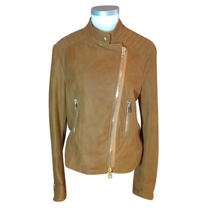 Iris von Arnim Padded leather jacket