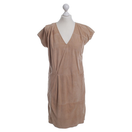 JOOP! Beige leather dress