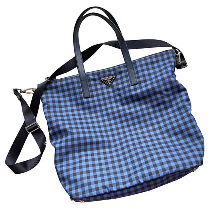 Prada Handbag with plaid pattern