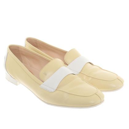 Tod's Ballerinas in yellow
