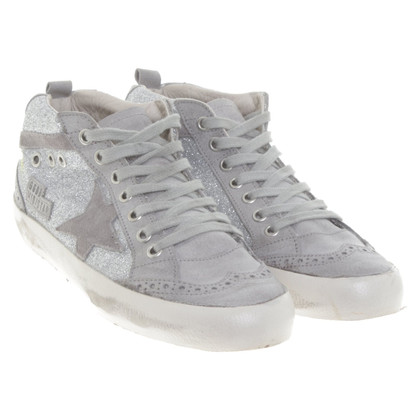 Golden Goose Silver colored sneakers