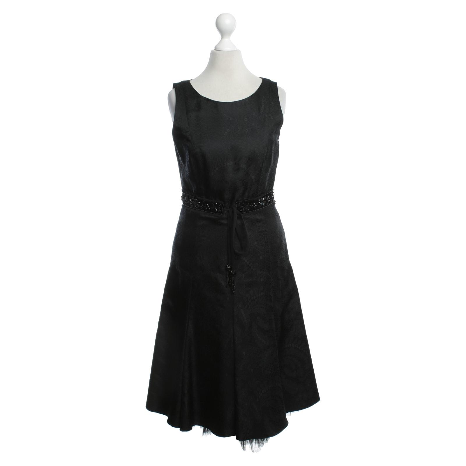 rena lange kleid in schwarz - second hand rena lange kleid