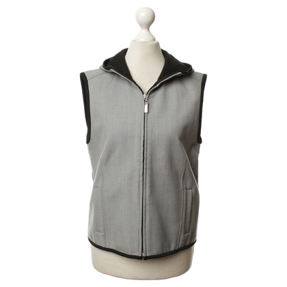 Escada Drops sleeveless Cardigan in grey