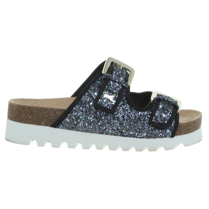 Patrizia Pepe With particles glitter sandals