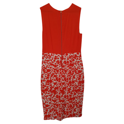 By Malene Birger Lightweight dress in orange / white