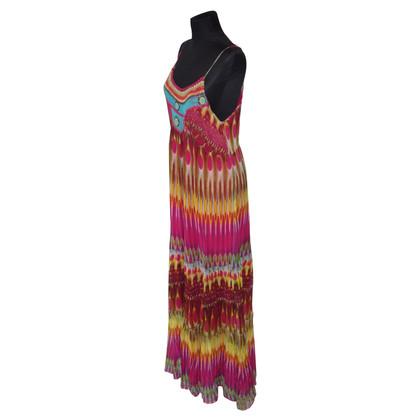 Missoni Maxi abito in seta multicolore