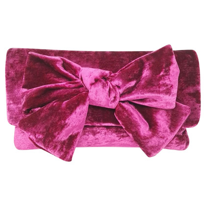 Pretty Ballerinas clutch made of velvet
