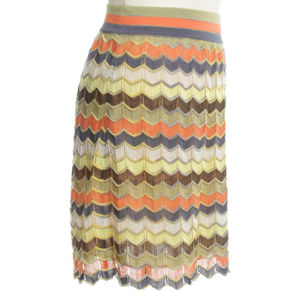 Missoni Knit skirt with pattern