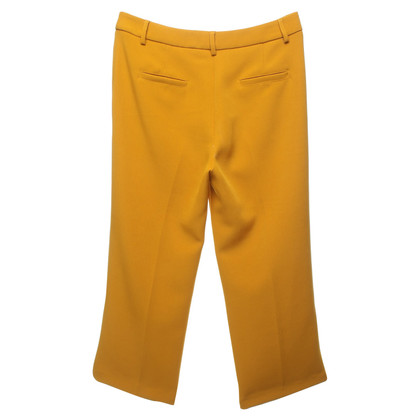 Atos Lombardini trousers in mustard yellow